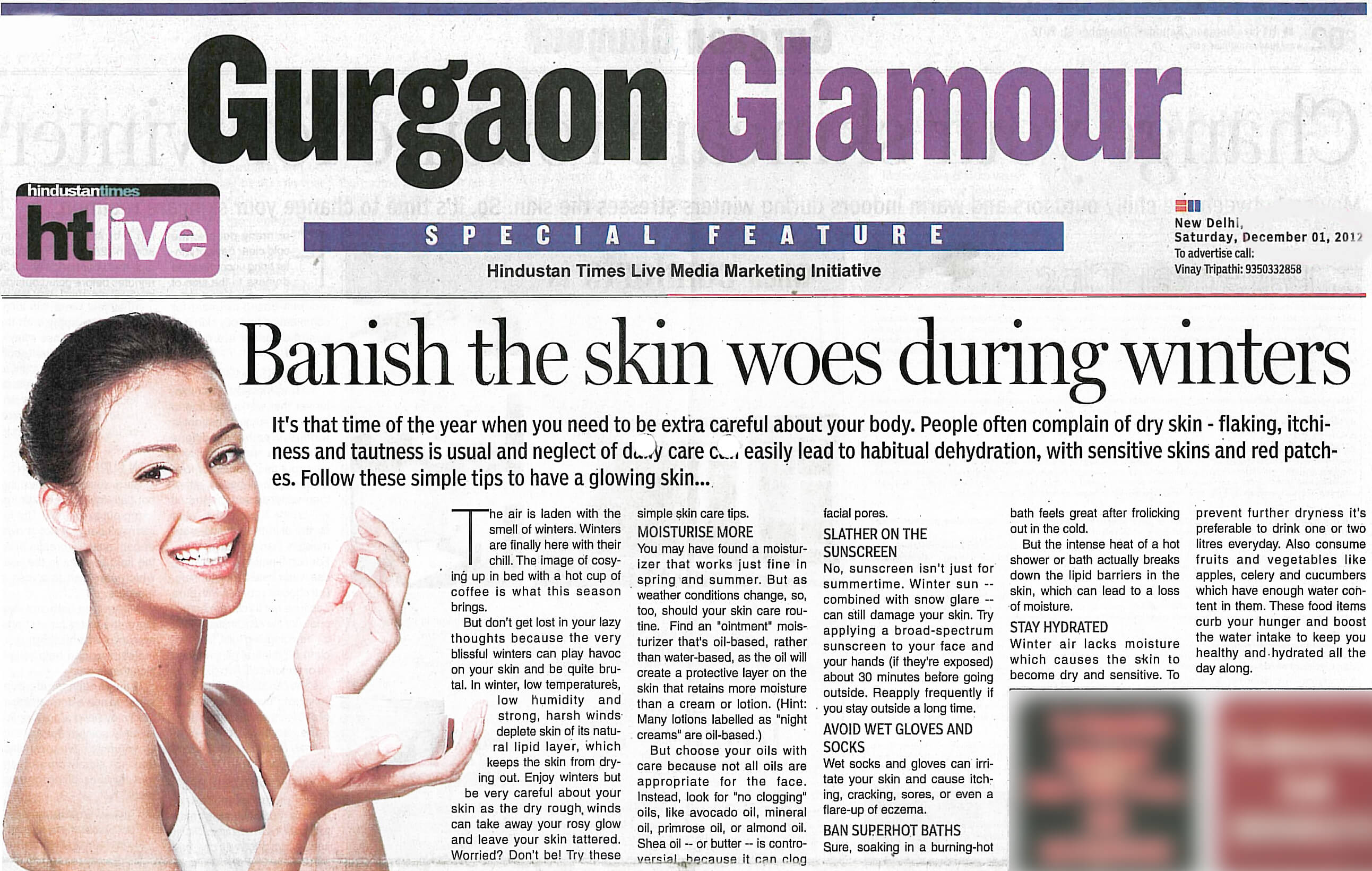 Banish the skin woes during winters